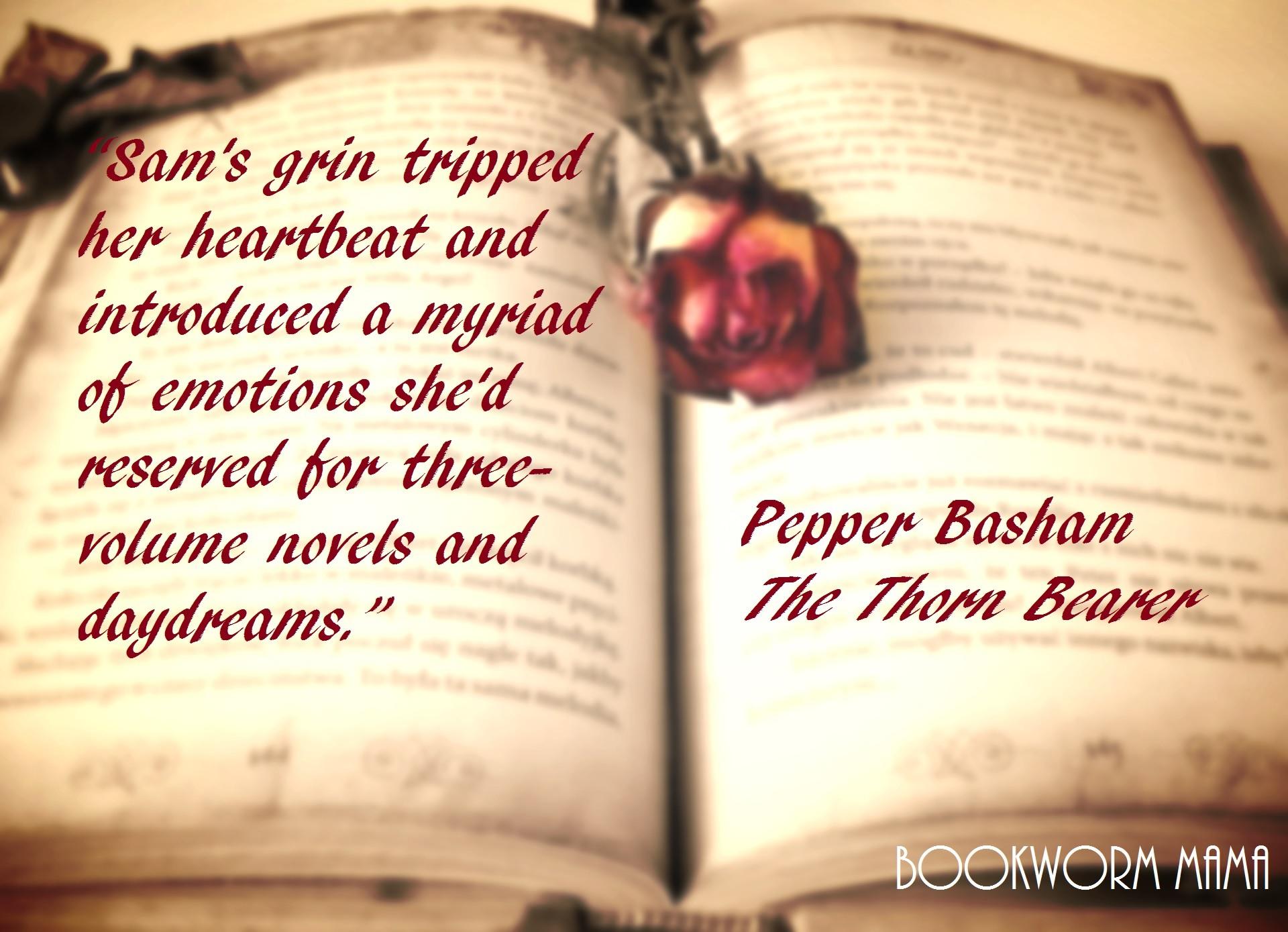 The Thorn Bearer - Novel
