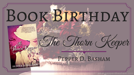 Book Birthday – The Thorn Keeper