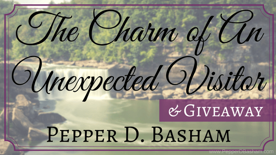 The Charm of An Unexpected Visitor…and Giveaway