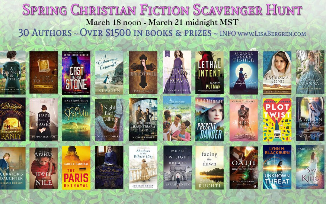 Christian Fiction Scavenger Hunt – Stop 21